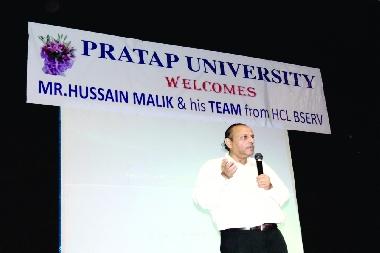 Mr. Husain Mallik, GM-HR, HCL
