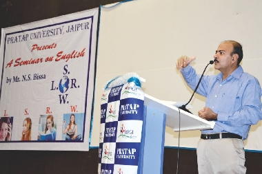 Seminar on English by Mr. N. S. Bissa