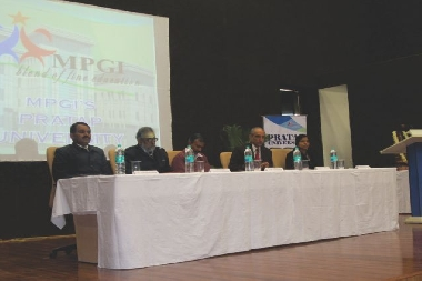 Seminar on -Environmental and Electronic Pollution- with Prof A.B. Gupta of MNIT, Jaipur