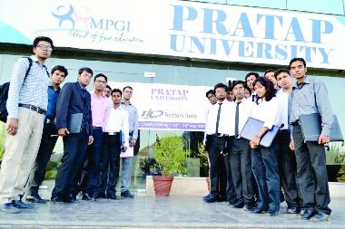 Selected Students of Tractors India Ltd.