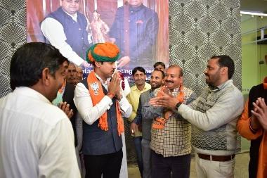 Rajya Vardhan Rathod Visit